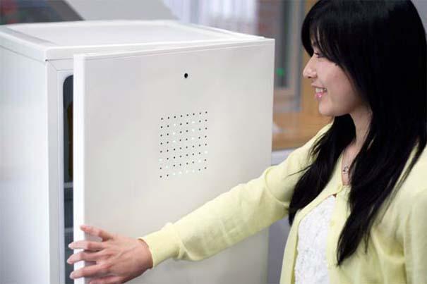 Το ψυγείο που ανοίγει μόνο αν είσαι χαμογελαστός! (6)
