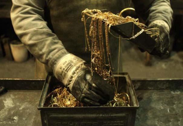 Πως φτιάχνονται οι ράβδοι χρυσού (1)