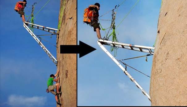 Έχετε αναρωτηθεί ποτέ πως φωτογραφίζουν τους ορειβάτες; (5)