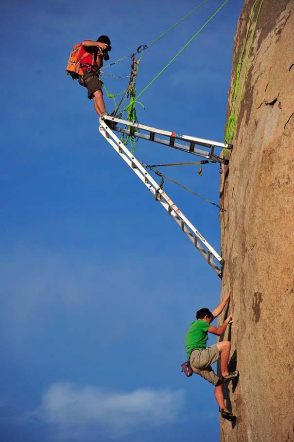 Έχετε αναρωτηθεί ποτέ πως φωτογραφίζουν τους ορειβάτες; (7)
