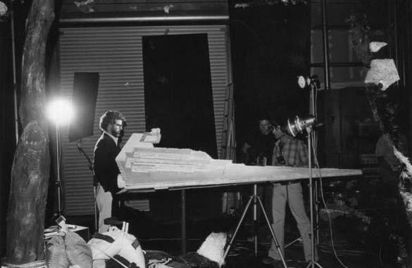 Σπάνιες φωτογραφίες από τα γυρίσματα κλασσικών ταινιών (3)