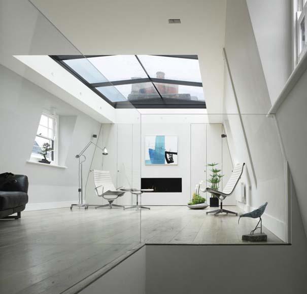 Σπίτι με ανακλινόμενη γυάλινη οροφή (1)