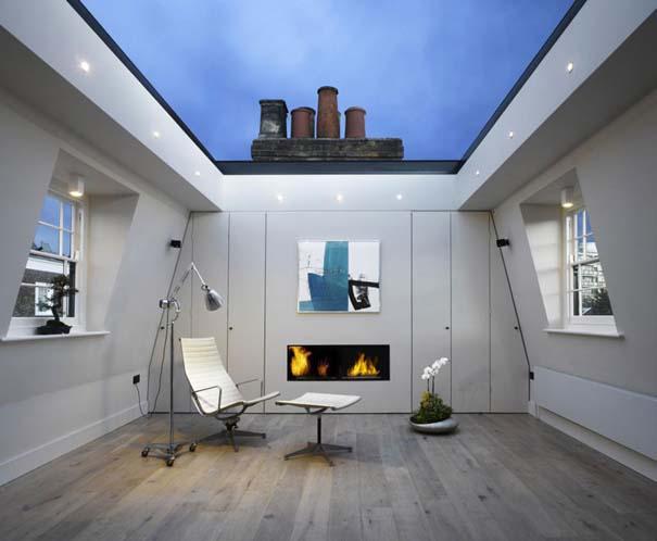 Σπίτι με ανακλινόμενη γυάλινη οροφή (10)
