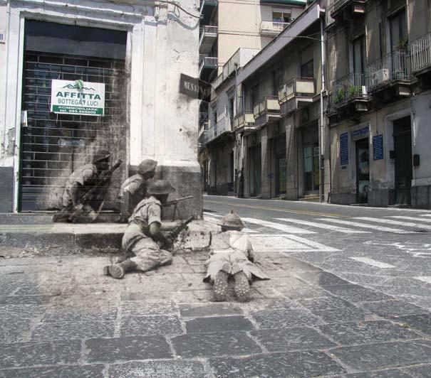Τότε και τώρα: 9 «στοιχειωμένες» φωτογραφίες του Β' Παγκοσμίου Πολέμου (1)