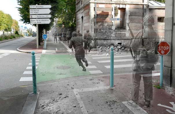 Τότε και τώρα: 9 «στοιχειωμένες» φωτογραφίες του Β' Παγκοσμίου Πολέμου (2)