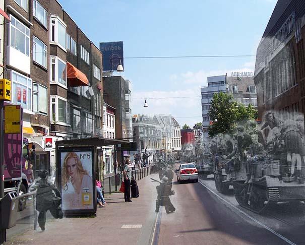 Τότε και τώρα: 9 «στοιχειωμένες» φωτογραφίες του Β' Παγκοσμίου Πολέμου (3)