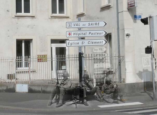 Τότε και τώρα: 9 «στοιχειωμένες» φωτογραφίες του Β' Παγκοσμίου Πολέμου (5)