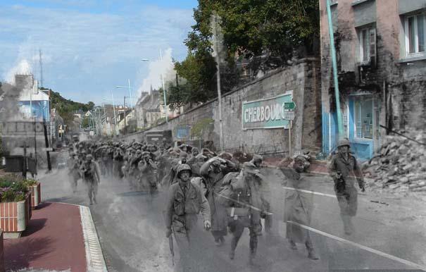 Τότε και τώρα: 9 «στοιχειωμένες» φωτογραφίες του Β' Παγκοσμίου Πολέμου (8)
