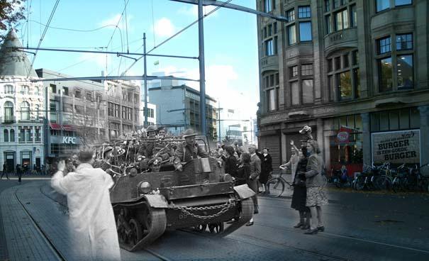 Τότε και τώρα: 9 «στοιχειωμένες» φωτογραφίες του Β' Παγκοσμίου Πολέμου (9)