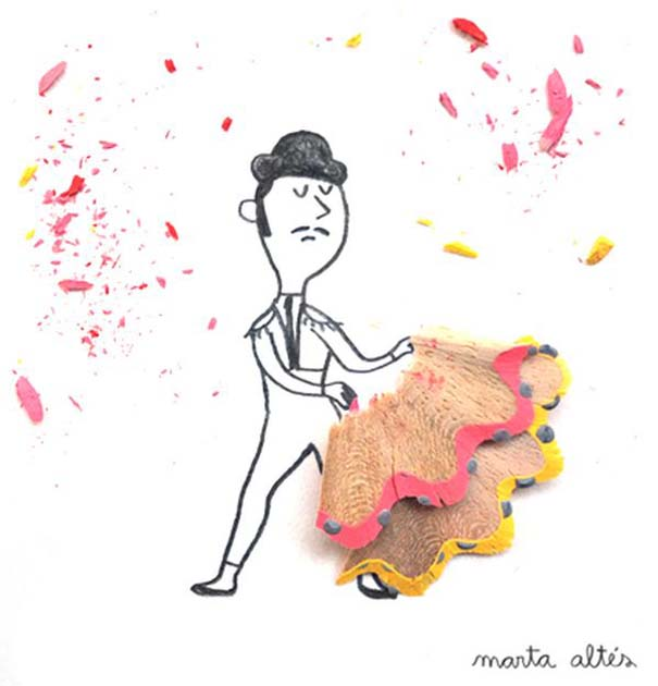 Τέχνη με ξύσματα μολυβιού (1)