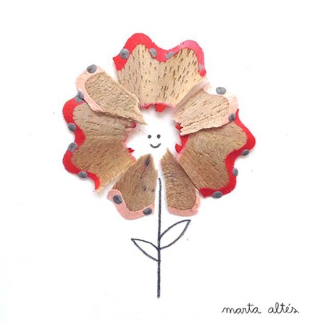 Τέχνη με ξύσματα μολυβιού (2)