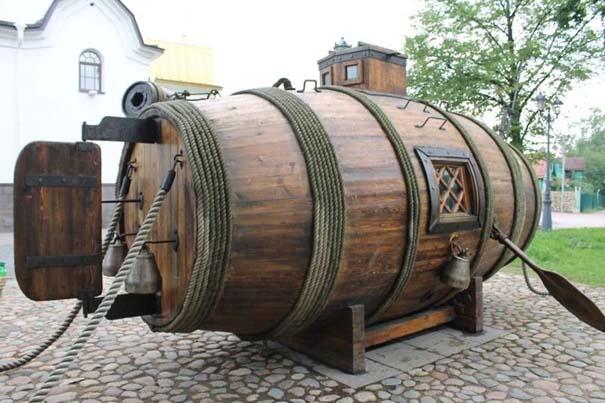 Μπορείτε να μαντέψετε τι είναι αυτή η ξύλινη κατασκευή; (1)