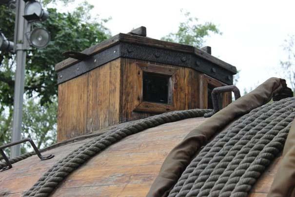 Μπορείτε να μαντέψετε τι είναι αυτή η ξύλινη κατασκευή; (3)