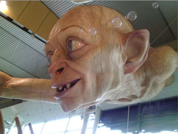 «Τρομακτική» διακόσμηση σε αεροδρόμιο της Νέας Ζηλανδίας (3)
