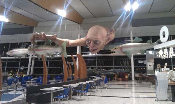 «Τρομακτική» διακόσμηση σε αεροδρόμιο της Νέας Ζηλανδίας (4)