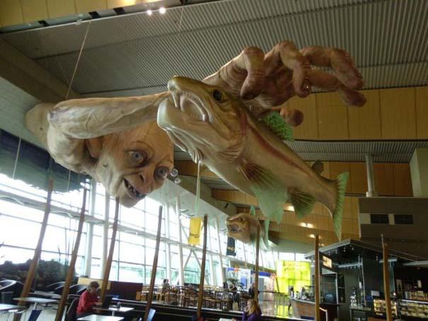 «Τρομακτική» διακόσμηση σε αεροδρόμιο της Νέας Ζηλανδίας (7)