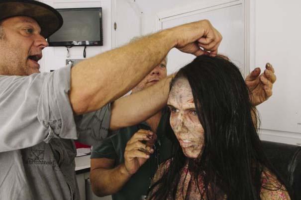 Η δημιουργία ενός ζόμπι για την σειρά «The Walking Dead» (4)