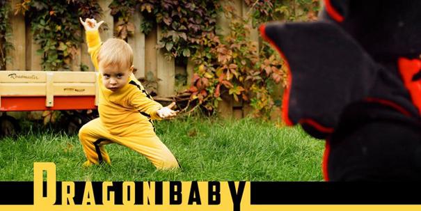 Dragon Baby: Το μωρό Bruce Lee που σαρώνει στο διαδίκτυο