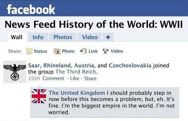 Αν ο Β' Παγκόσμιος Πόλεμος είχε status updates στο Facebook (1)