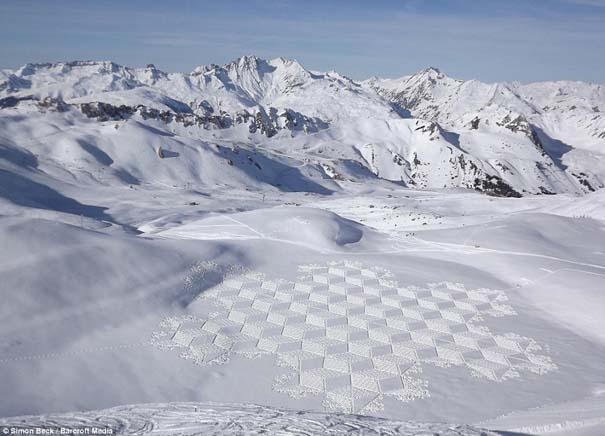 Απίστευτα σχέδια μεγάλης κλίμακας στο χιόνι (6)