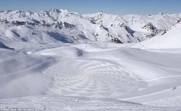 Απίστευτα σχέδια μεγάλης κλίμακας στο χιόνι (7)