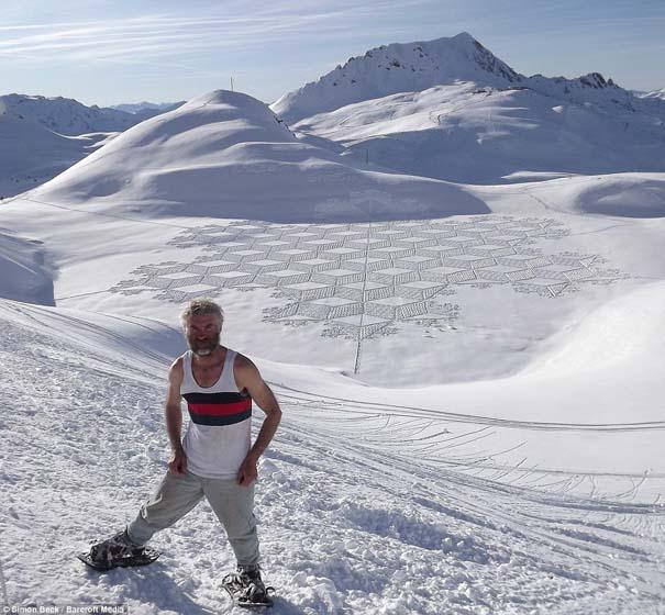 Απίστευτα σχέδια μεγάλης κλίμακας στο χιόνι (11)