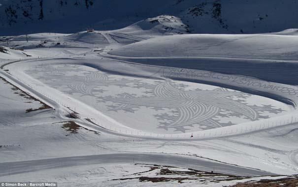Απίστευτα σχέδια μεγάλης κλίμακας στο χιόνι (13)