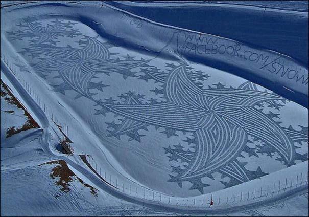 Απίστευτα σχέδια μεγάλης κλίμακας στο χιόνι (20)
