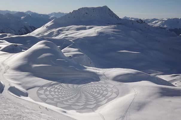 Απίστευτα σχέδια μεγάλης κλίμακας στο χιόνι (30)