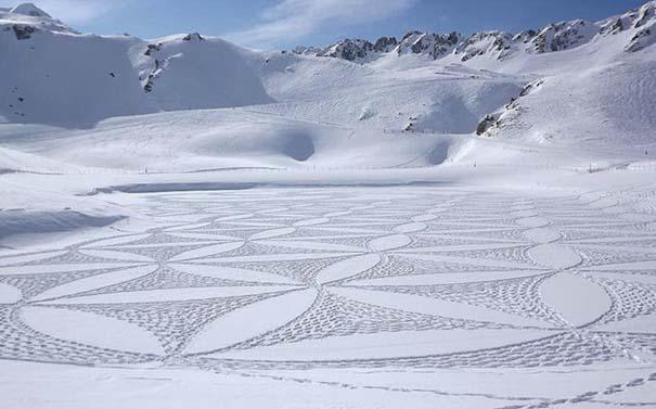 Απίστευτα σχέδια μεγάλης κλίμακας στο χιόνι (31)