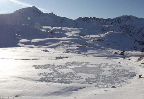 Απίστευτα σχέδια μεγάλης κλίμακας στο χιόνι (36)