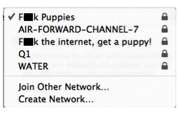 Αστεία και παράξενα ονόματα σε Wi-Fi (9)