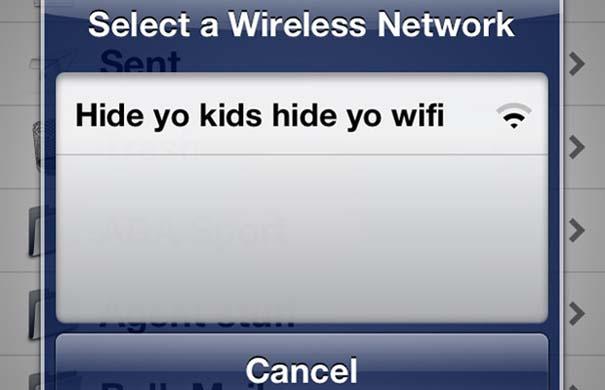 Αστεία και παράξενα ονόματα σε Wi-Fi (14)