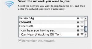Αστεία και παράξενα ονόματα σε Wi-Fi #3