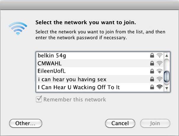 Αστεία και παράξενα ονόματα σε Wi-Fi (15)