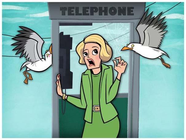 Διάσημες ταινίες και σειρές σε μορφή Cartoon (6)