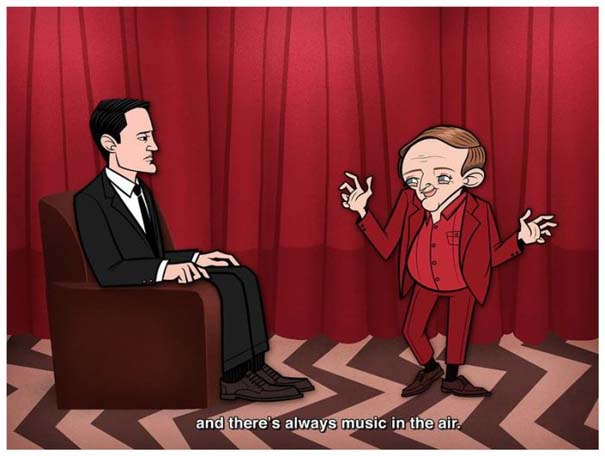 Διάσημες ταινίες και σειρές σε μορφή Cartoon (11)