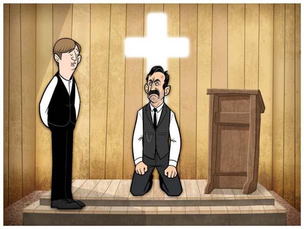 Διάσημες ταινίες και σειρές σε μορφή Cartoon (13)