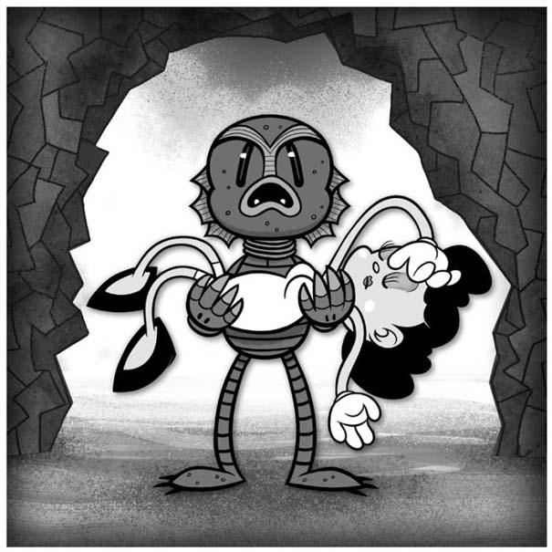 Διάσημες ταινίες και σειρές σε μορφή Cartoon (24)