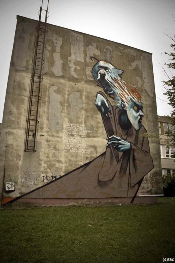 Εντυπωσιακά graffiti μεγάλης κλίμακας (1)
