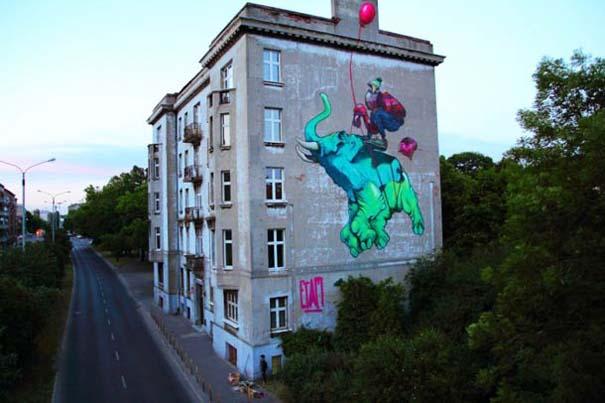 Εντυπωσιακά graffiti μεγάλης κλίμακας (7)