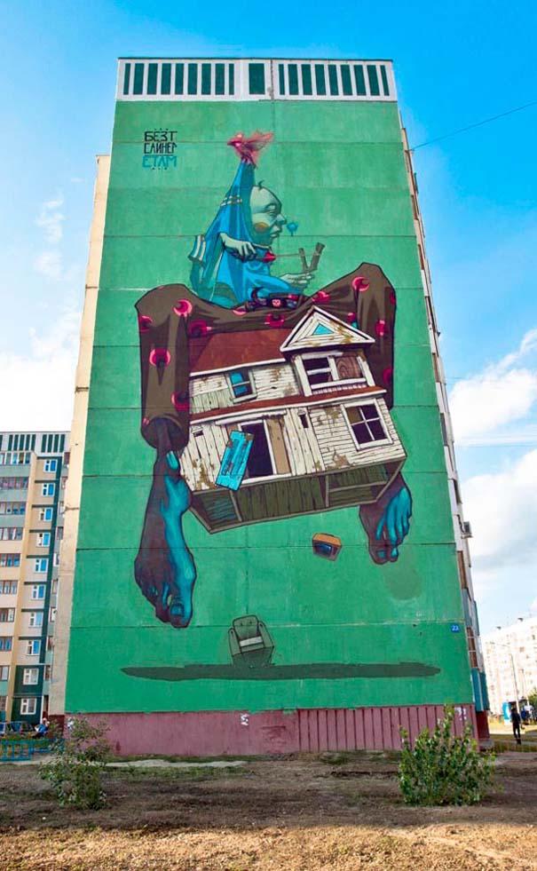 Εντυπωσιακά graffiti μεγάλης κλίμακας (20)