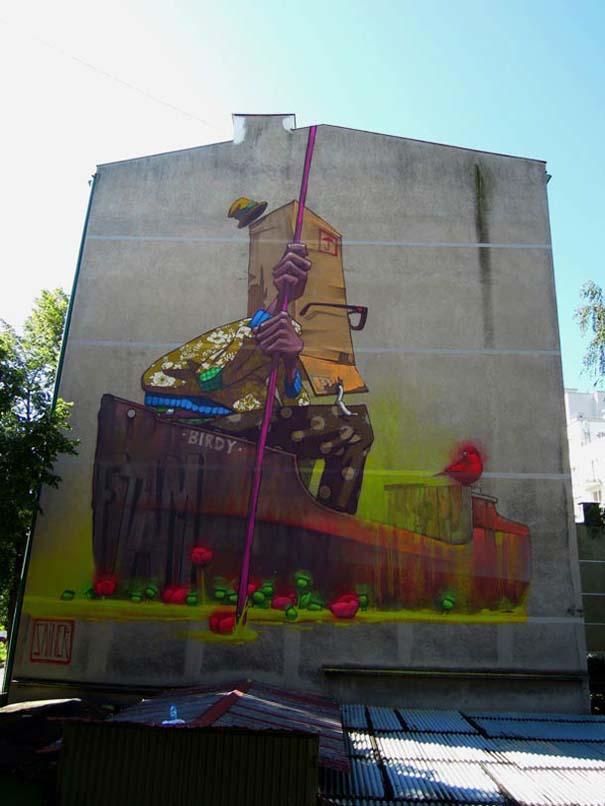 Εντυπωσιακά graffiti μεγάλης κλίμακας (21)