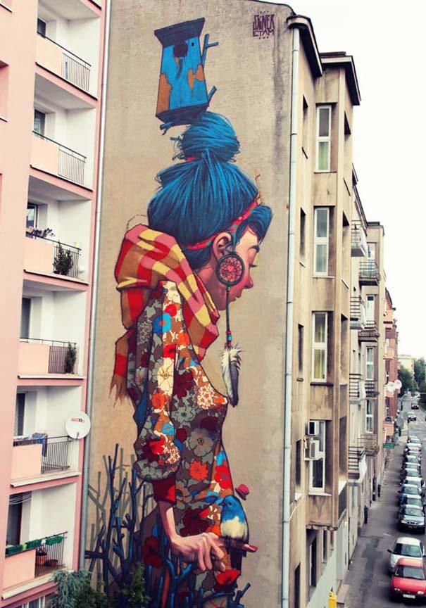 Εντυπωσιακά graffiti μεγάλης κλίμακας (24)
