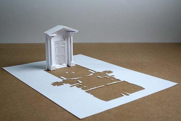 Απίστευτα έργα τέχνης με μια κόλλα χαρτί Α4 (3)