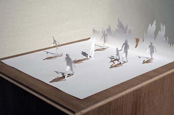 Απίστευτα έργα τέχνης με μια κόλλα χαρτί Α4 (4)