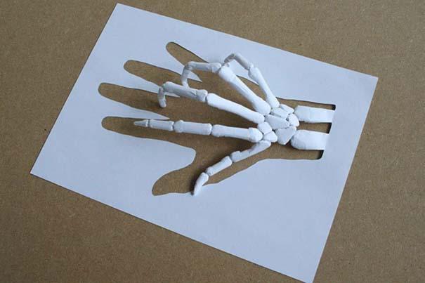 Απίστευτα έργα τέχνης με μια κόλλα χαρτί Α4 (9)
