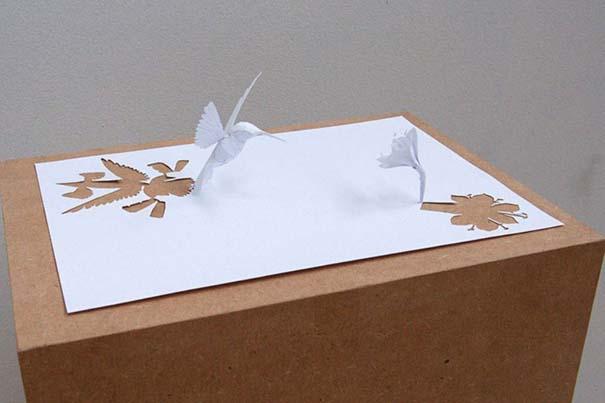 Απίστευτα έργα τέχνης με μια κόλλα χαρτί Α4 (15)