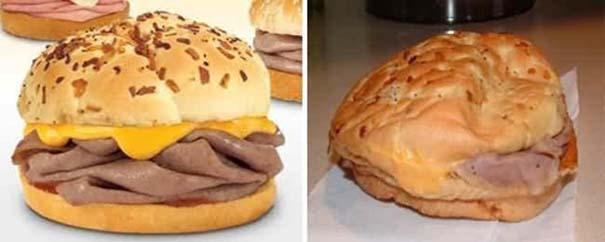 Φαγητό: Διαφημίσεις vs Πραγματικότητα (2)