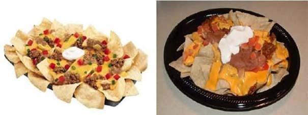 Φαγητό: Διαφημίσεις vs Πραγματικότητα (3)
